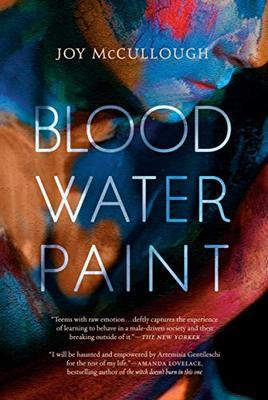 Novel cover: Blood Water Paint