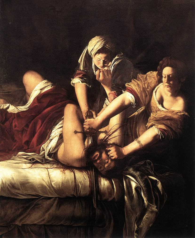 Painting: Judith Slaying Holofernes by Artemisia Gentileschi
