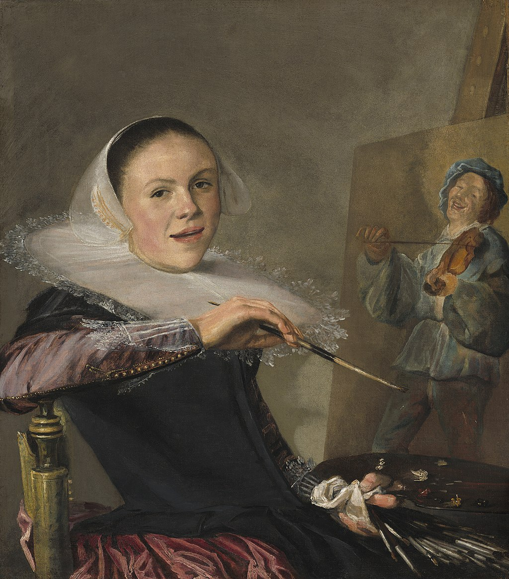 Painting: Judith Leyster Self Portrait
