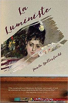 Novel cover: La Luministe by Paula Butterfield
